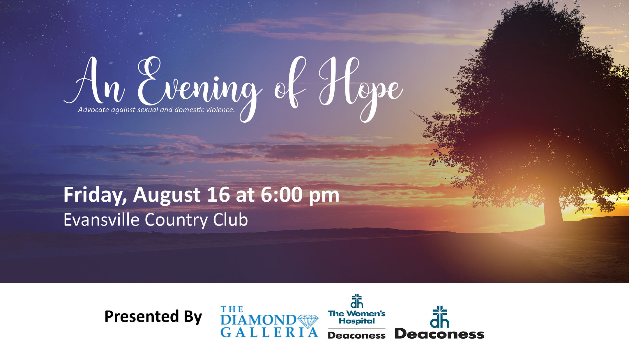 An Evening of Hope by Albion Fellows Bacon Center