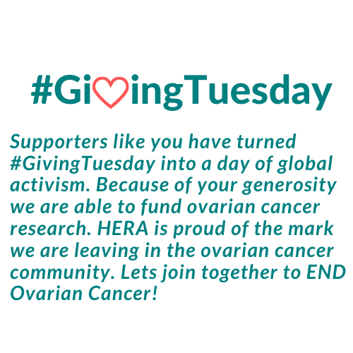 Donate Now Giving Tuesday By Hera Ovarian Cancer Foundation