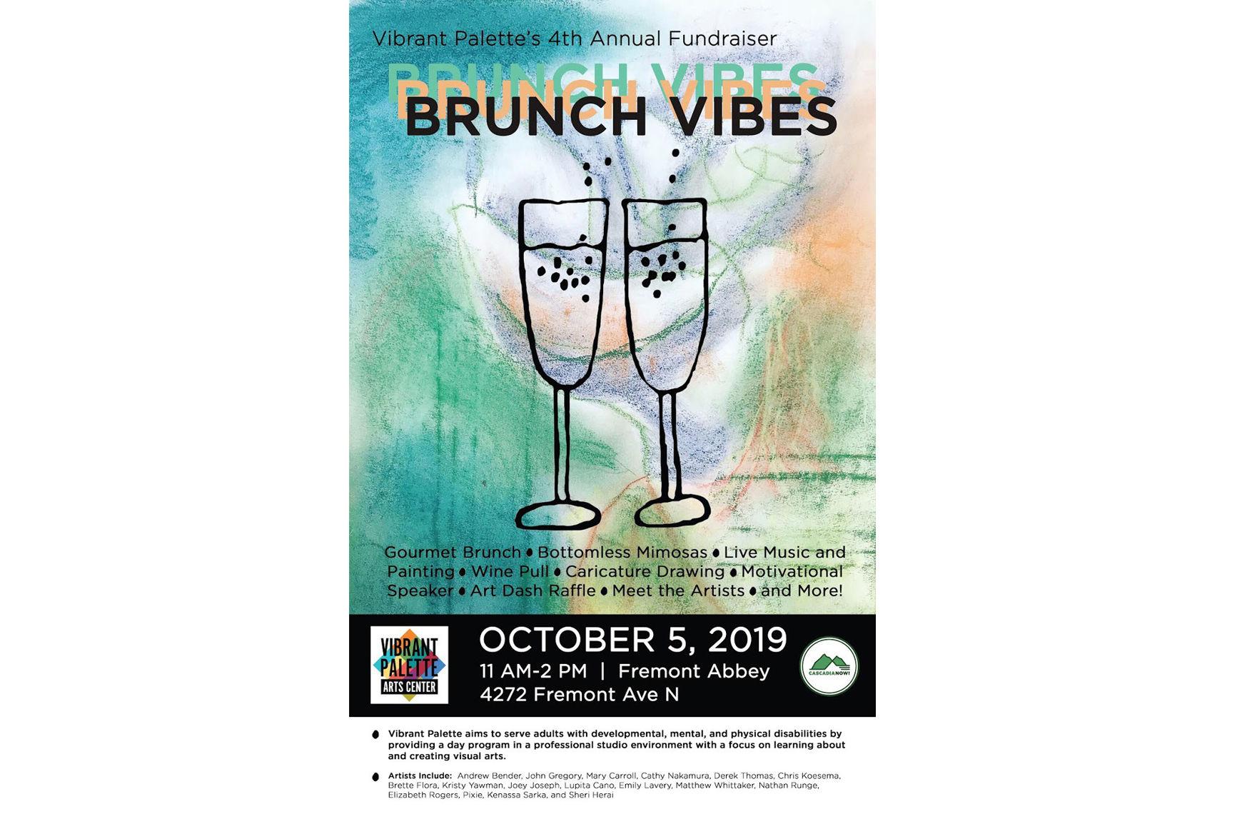 Donate Now Brunch Vibes A Vibrant Palette Arts Center