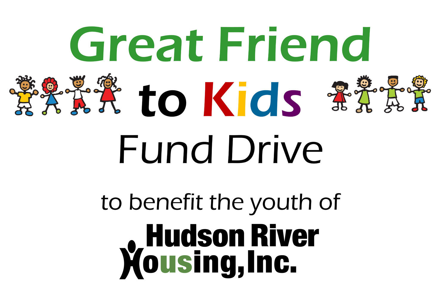 Donate Now   Great Friend to Kids Annual Fund Drive by